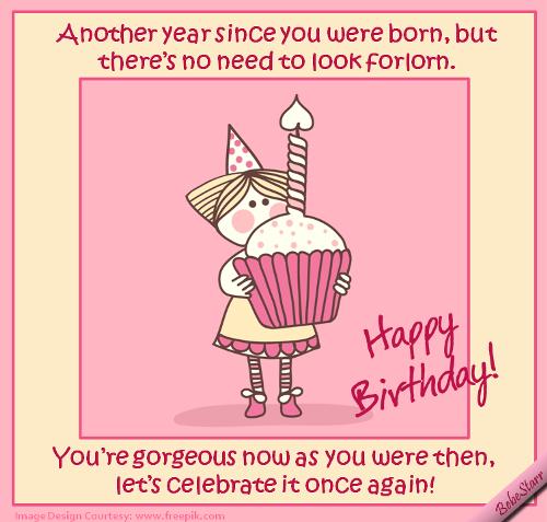 Happy Birthday, Gorgeous! Free Birthday For Her ECards