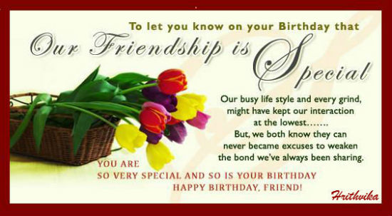 Birthday For Best Friends Cards Free Wishes