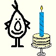 The Candle, A Funny Birthday Poem.