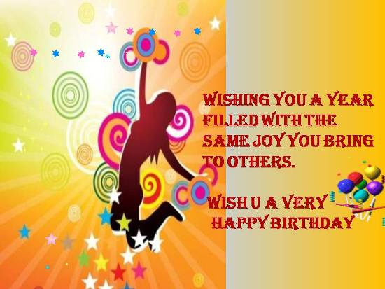 Birthday Greetings For A Loved One