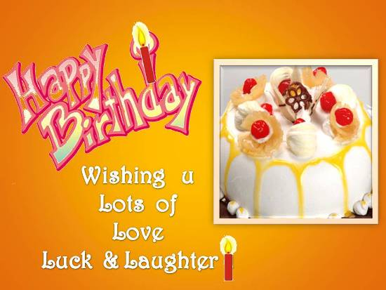 Birthday Wishes For A Loved One