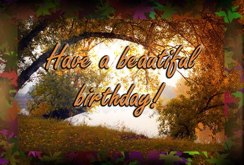 Indian Summer Birthday Free Happy Birthday Ecards
