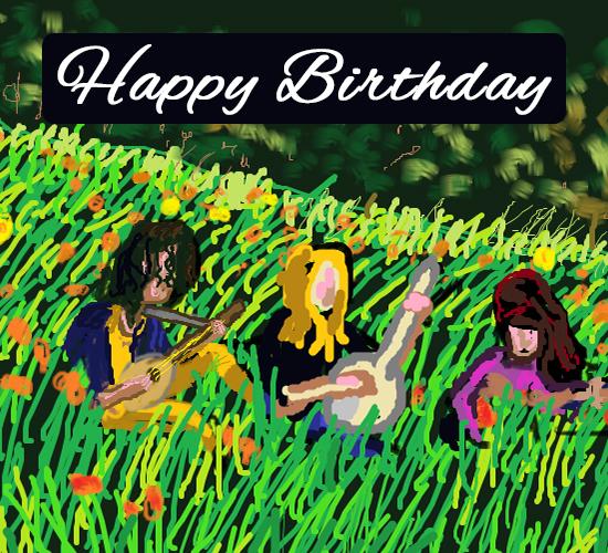 Happy Birthday Music... Free Happy Birthday ECards