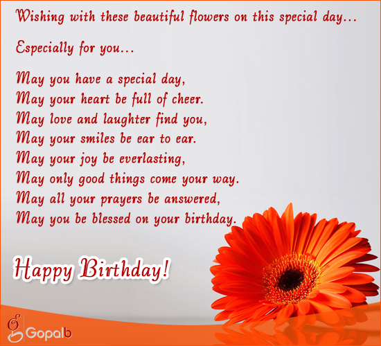 Especially For You... Free Happy Birthday ECards, Greeting