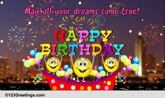 happy birthday cards  free happy birthday wishes  greeting