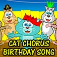 Cat Chorus Birthday Song.