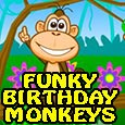 Funky Birthday Monkeys...