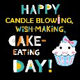 Happy Candle Blowing,Wish Making.