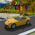 Happy Birthday Sports Car