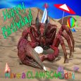 Happy Birthday Crab