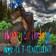 Happy Birthday T-rex