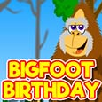 Bigfoot Big Birthday Message...