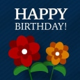 Happy Birthday Flowers For You!