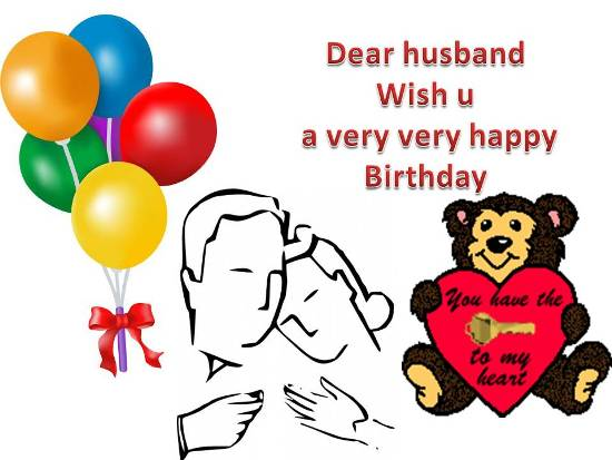 Birthday Greetings For Your Husband!