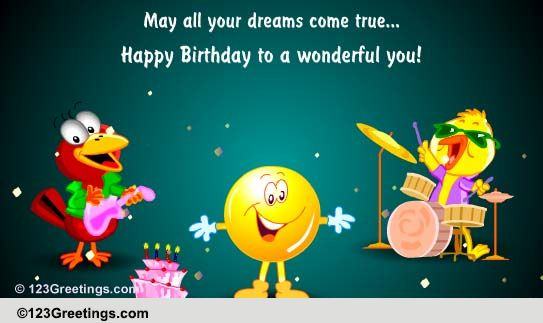 Birthday For Kids Cards Free Wishes Greeting