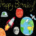 Birthday Wishes From Outer Space!