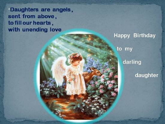 Wish Ur Loving Daughter On Her Birth.