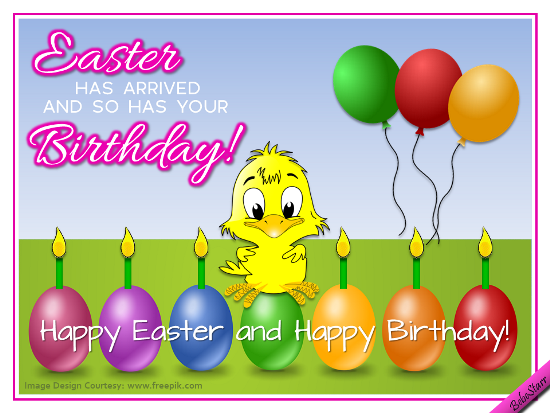 Easter Birthday Greetings. Free Specials ECards, Greeting