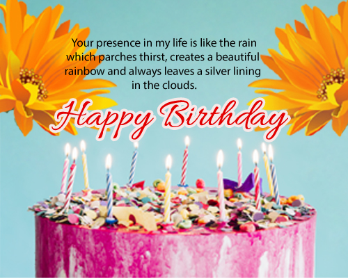 Cute Happy Bithday Wishes.