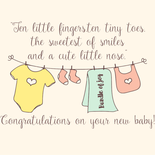 Your Sweet Bundle Of Joy Is Here!