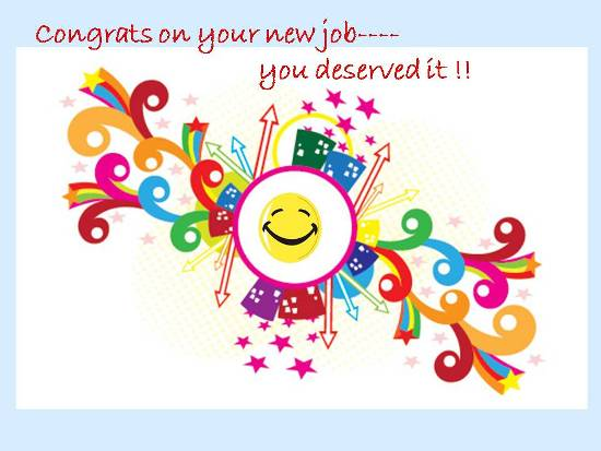 Congratulate On Getting A New Job.