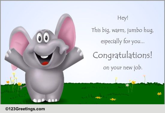 congratulations new job cards free congratulations new job wishes 123 greetings