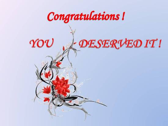 congratulatory message 4 a loved one  free on other