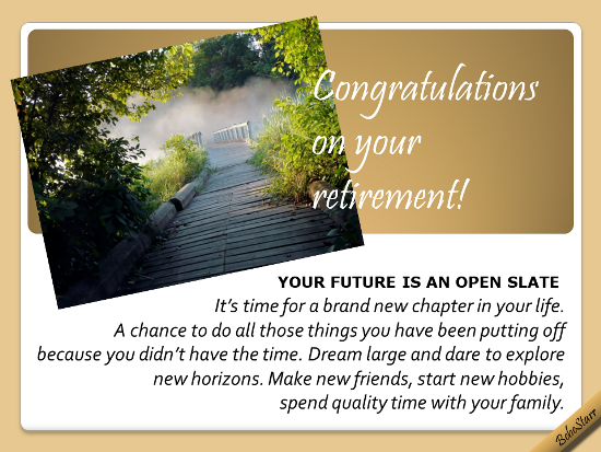Your Future Is An Open Slate.