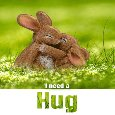 Cute Bunny Hug Your Hug.