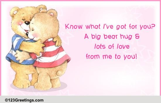 Teddy Bear Greeting Cards Choice Image