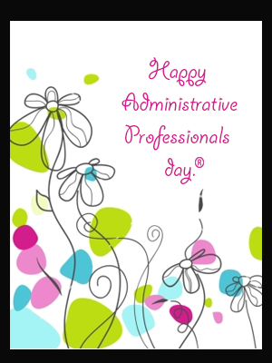 Happy Administrative...