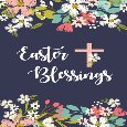 Easter Blessings Flowers.