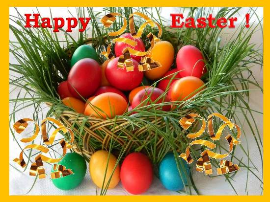 Wishes For A Very Happy Easter.