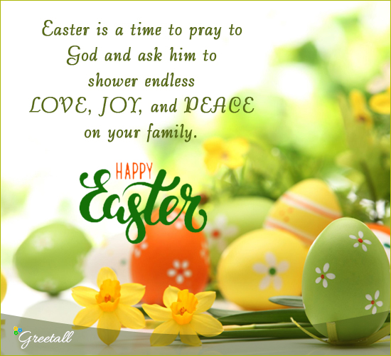 Easter Is A Time To Pray...