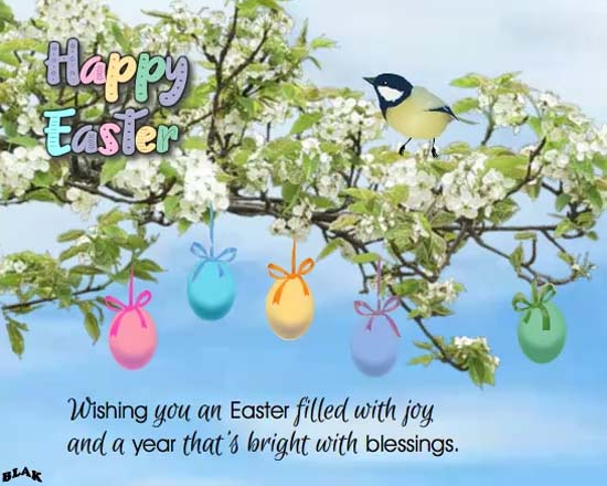 Send Easter Wishes Ecard!