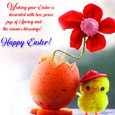 A Special And Cute Easter Chick Wish!