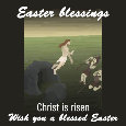 Easter Blessings, Christ Is Risen.