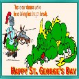 St. George's Day Ecard For You.