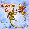 A Happy St George's Day Ecard.