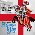 My St. George's Day Ecard For You.