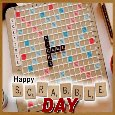 A Happy Scrabble Day Card For You.