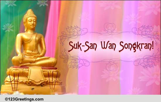Heartfelt Songkran Wishes... Free Songkran (Thailand ...