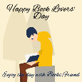Happy Book Lovers' Day, Friends.