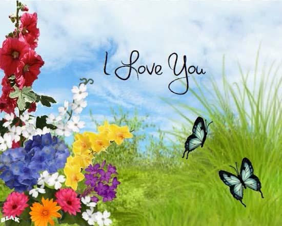 Send August Flowers Card!