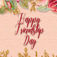 Happy Friendship Day Pretty Roses.
