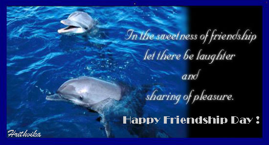 Sweetness Of Friendship.