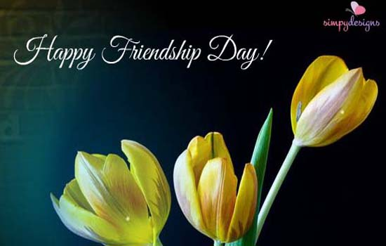 Send Friendship Day Greetings!