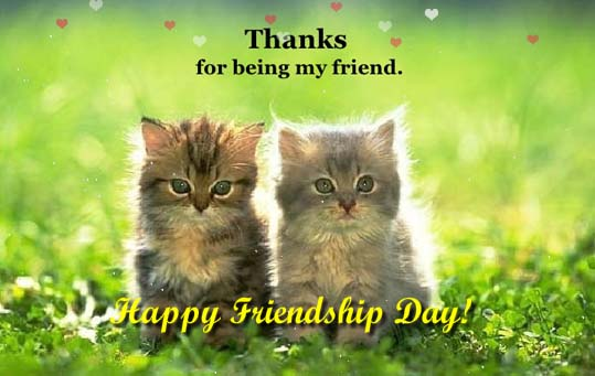 Send Friendship Day Ecard!