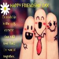 Happy Friendship Day Cute Wishes.