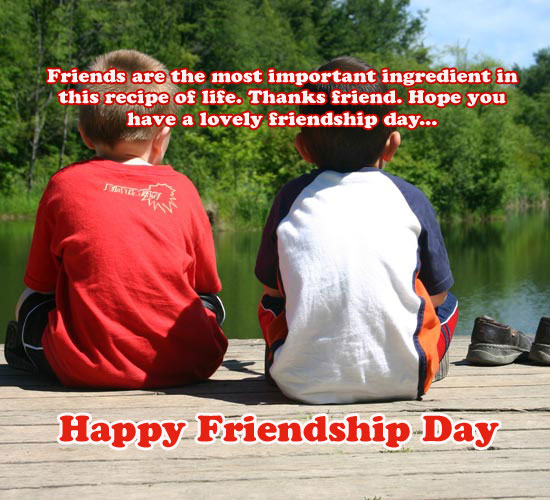 Wishing A Lovely Friendship Day.